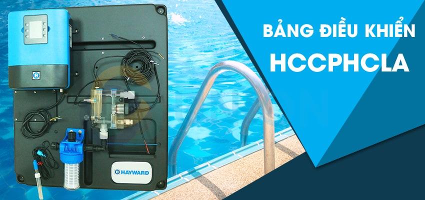 hệ thống lọc bể bơi - bảng điều khiển hóa chất